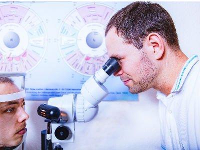Diagnostik mit Irisanalyse